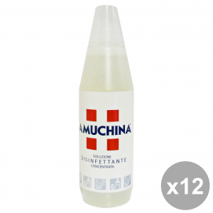 Set 12 AMUCHINA 1 Lt Solution Disinfectant Disinfectants And Sanitizing
