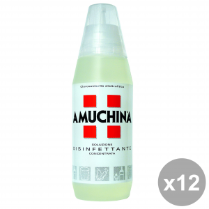 Set 12 AMUCHINA 500 ml Solution Disinfectant Disinfectants And Sanitizing