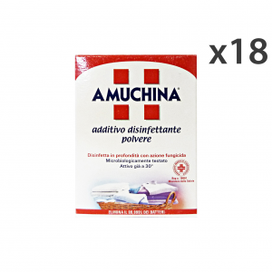 Set 18 AMUCHINA Disinfectant Laundry 500 gr Detergents House