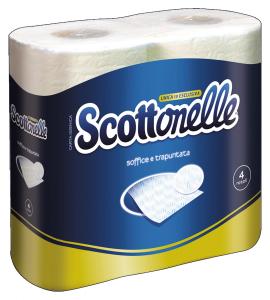 Scottonelle X 4 igienica - Carta igienica
