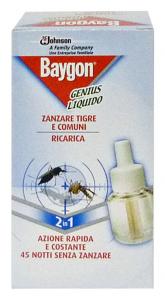 BAYGON Genius fornello ricarica - Insetticidi e repellenti