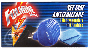 FULMINE Zanzare elettrico base +10 piastrine - insetticidi e repellenti