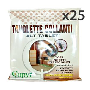Set 25 COPYR Topicida Tavolette 19x14 Cm. Articoli per insetti