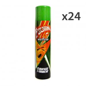 Set 24 FULMINE Scarafaggi-Formiche Spray 300 Ml. Articoli per insetti