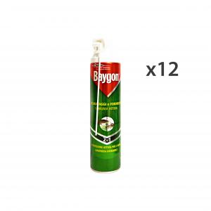 Set 12 BAYGON Scarafaggi-Formiche Schiuma 400 Ml. Articoli per insetti