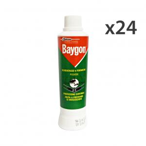 Set 24 BAYGON Scarafaggi-Formiche Polvere 250 Gr. Articoli per insetti