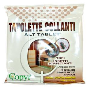 COPYR Topicita tavolette 19x14 cm. - Insetticidi e repellenti