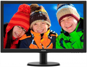 PHILIPS 243V5Lhab/00 24 Monitor Computer TV