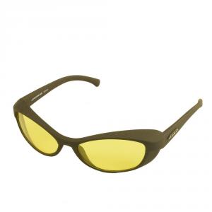 JUKO Occhiali da sole unisex grigio antracite lenti gialle JK-giallo
