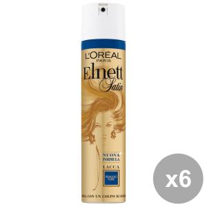 Set 6 ELNETT Lacca Forte 250 Ml. Prodotti per capelli