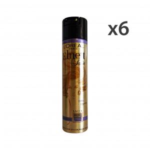 Set 6 ELNETT Lacca BRILLANTEZZA IPER-Forte 250 Ml.  Prodotti per capelli