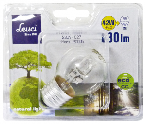 LEUCI Lamp.sphere E27 42w 444051 Lamp.alog. - Lampen Und Material Elektrisch