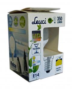 LEUCI Lampe Led Kugel E14 4w = 32w Art.555242 - Lampen Und Material Elektrisch