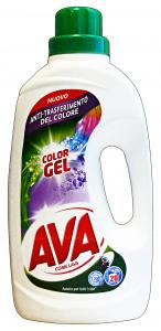 AVA Lavatrice Liquido 20 Mis. COLOR Gel Detergenti Casa