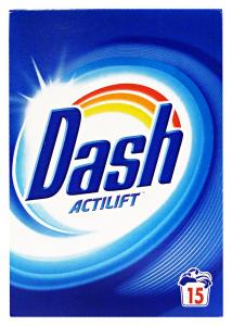 DASH Detersivo lavatrice polvere 15 lavaggi classico