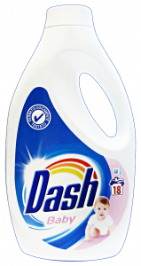 DASH Baby detersivo lavatrice liquido 18 lavaggi