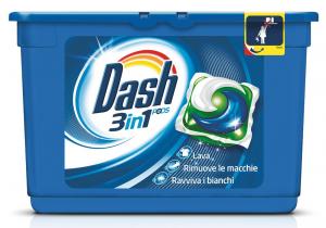 DASH Lavatrice Ecodosi 15 Pezzi 3In1 Classico Detergenti Casa