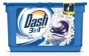 DASH Lavatrice Ecodosi 15 Pezzi 3In1 Con Ammorbidente Rugiada Mattutina