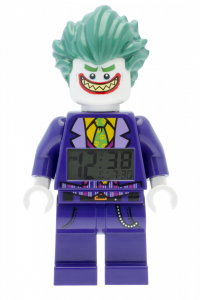 LEGO® Horloge de table réveil BATMAN MOVIE THE JOKER MINIFIGURE CLOCK