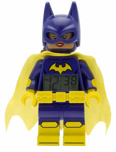 LEGO® Horloge de table réveil BATMAN MOVIE BATGIRL MINIFIGURE CLOCK