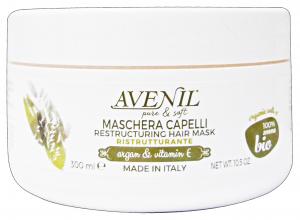 AVENIL Maschera Ristrutturante Argan/Vitamina E 300 Ml Prodotto Per Capelli