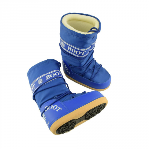 MYSNOW Snow Boots Junior Royal (Sizes 32-33-34) Snow Warm Comfortable Upholstered