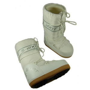 MYSNOW Snow Boots Junior White (Sizes 26-27-28) Snow Warm Comfortable Upholstered