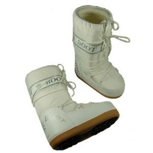 MYSNOW Doposci Boot Junior Bianco (Taglie 29-30-31) Neve Caldi Comodi Imbottiti