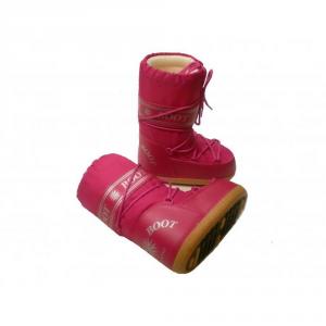 MYSNOW Doposci Boot Junior Fucsia (Taglie 29-30-31) Neve Caldi Comodi Imbottiti