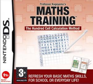 NINTENDO Videogioco NDS Training di Matematica del Prof. Kag, per