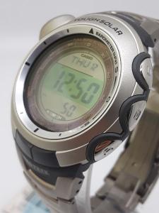 Orologio Casio Uomo PRO-TREK PRG-120T-7V con altimetro, barometro, termometro, bussola in titanio. vendita on line | OROLOGERIA BRUNI Imperia