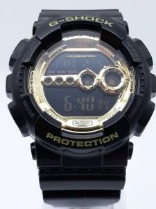 Orologio Casio Uomo G-SHOCK GD-100GB-1ER nero oro, vendita on line | OROLOGERIA BRUNI Imperia