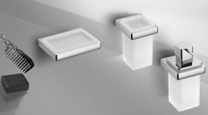 Porta sapone appoggio per il bagno serie Lulu Colombo design