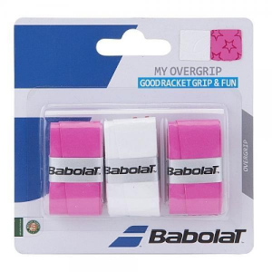 'BABOLAT My OverGrip Multicolor 3 Pezzi Grip/overgrip Tennis 653045-184'