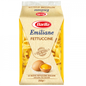BARILLA Emiliane Fettuccine All' Uovo 250 Grammi Pasta Made In Italy