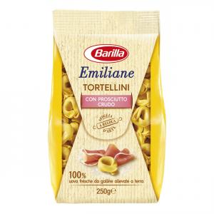 BARILLA Emiliane Tortellini Con Prosciutto Crudo 250 Grammi Pasta Made In Italy