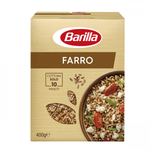 BARILLA Farro Per Piatti Caldi E Freddi Cottura 10 Minuti 400 Grammi