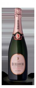 BERLUCCHI Cuvée Imperiale Max Rosé Docg Cl. 75 Italienischer Wein Schnaps