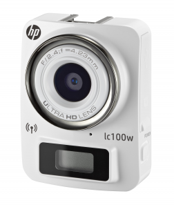 HEWLETT PACKARD Hp Lc-100W Whi 8Meg-1080P-80° Wifi Fotocamera Supporti Accessori