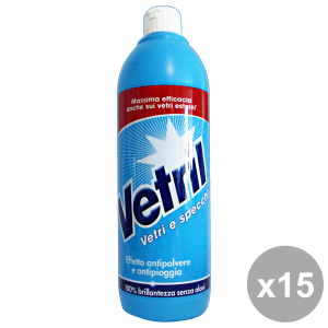 Set 15 VETRIL SQUEEZE 650 ml Détergents Maison