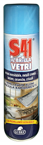 GUBRA S41 brilla detergente vetri spray 500 ml.