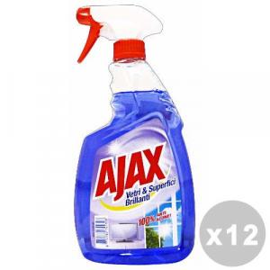 Set 12 AJAX Vetri TRIGGER 750 Ml. Detergenti casa