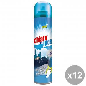 Set 12 CHIARO LUCE Vetri Spray 300 Ml. Detergenti casa