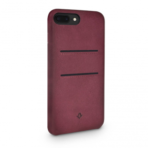 TWELVE SOUTH Cover in pelle morbida con tasche per iPhone 7 Plus, 8 Plus - Marsala
