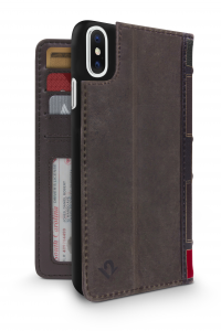 TWELVE SOUTH BookBook cover in pelle per iPhone X - Marrone