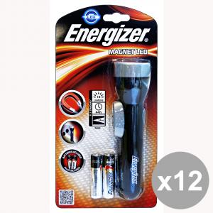 Set 12 ENERGIZER Torcia LED Con Magnete Elettricità