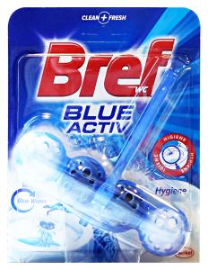BREF Tavoletta wc blue active palline