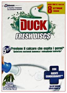 DUCK Fresh tav.wc discs base active eucalyptus - Tavolette WC + portascopini