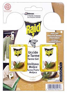 RAID Tarmicida cedro 2 pz.  - Tarmicidi