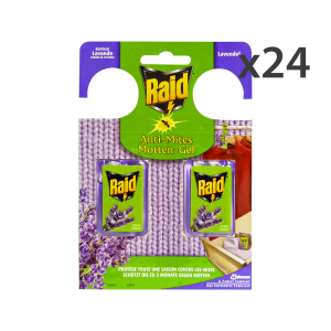 RAID Set 24 Tarmicide Lavender 2 Pieces Articles For Insects